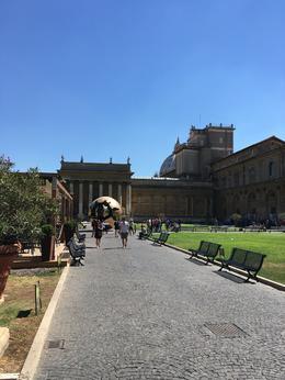 Vatican Courtyard , David M - August 2017