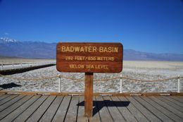Badwater - and already more than 30 degrees celsius in April!, Christine O - April 2008