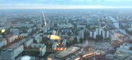 Stunning views of Berlin from the TV Tower , Tony V - September 2015