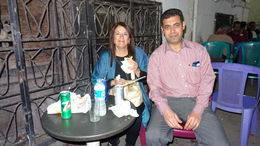 Cenando en El Cairo con Ahkram , Raul Eduardo P - April 2016