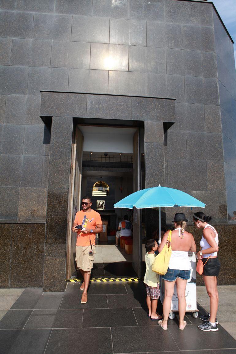 Chapel under Jesus Statue - Rio de Janeiro