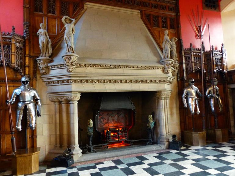 Edinburgh Castle armory - Edinburgh