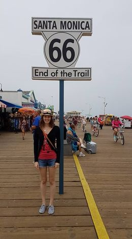 End of Route 66 at Santa Monica Pier , step_on_it206 - June 2016
