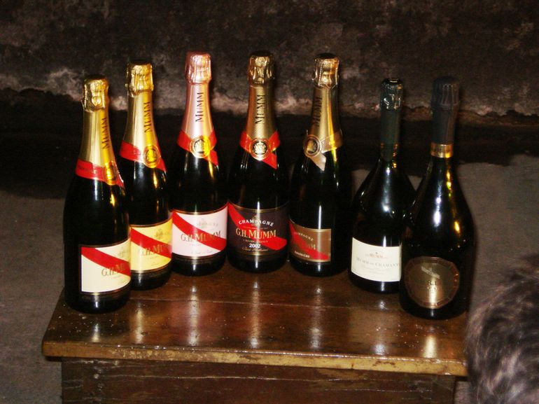G. H Mumm display - Champagne