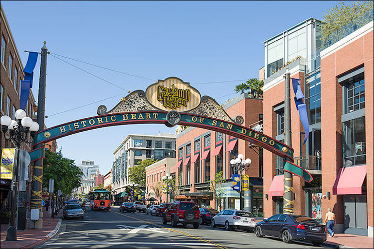 Gas Lamp District - San Diego