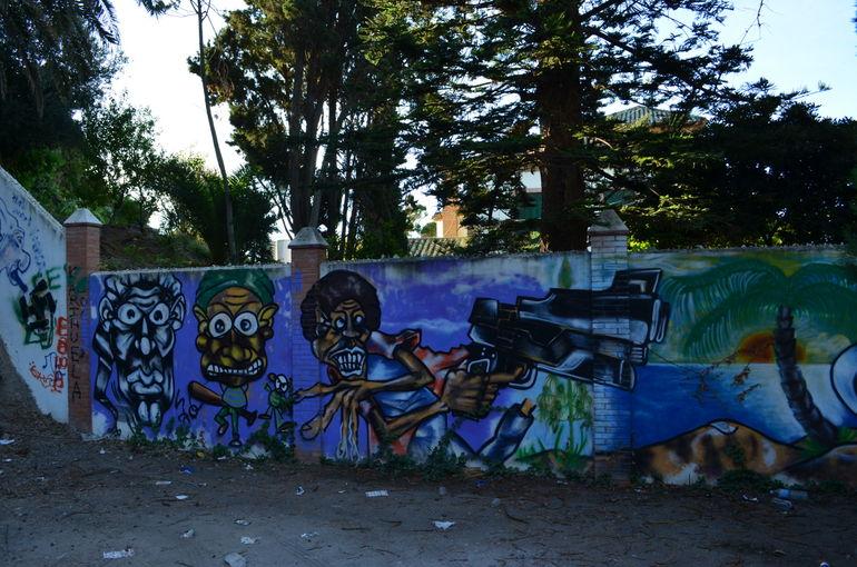 Graffiti wall - Malaga
