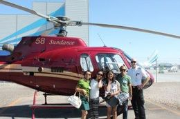 A family picture with the helicopter pilot. , Noli B - May 2013