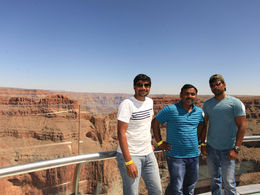 Quick helicopter tour to one of the 7 natural wonders in world with Prabhu and Praveen. , kottiprem - July 2016