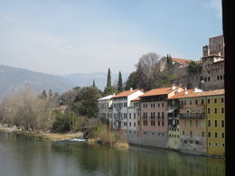 The lovely town of Bassano del Grappa , Susan E - March 2012