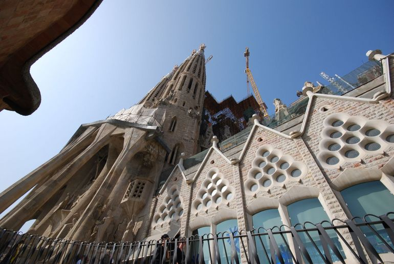 La Sagrada Familia side shot - Barcelona
