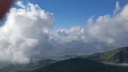 This was the brilliant view of Naples from the top of Mount Vesuvius after we had done our epic climb. , keith1955 - October 2015