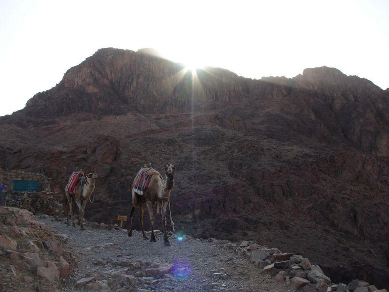 On the way up - Sharm el Sheikh