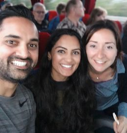 On the bus ride back to Florence with our tour guide Elisa! We had an amazing time with her :0 , Swati P - May 2016