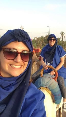Selfies on the Camel , Vicki M - August 2016