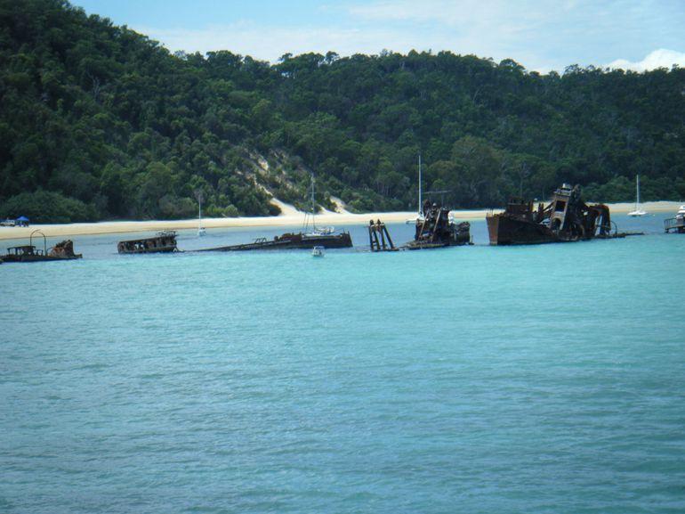Shipwrecks - Brisbane