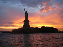 This photo was taken from the sunset cruise tour - highly recommended, Claire B - August 2009