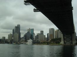 Leaving Milsons Point on our way to Manly Beach - March 2010