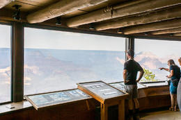 Tourists overlooking the South Rim of the Grand Canyon., Viator Insider - December 2017