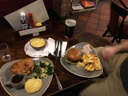 Dinner at the Eagle and Child pub in Oxford , Jessica W - February 2017
