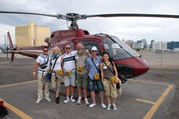 Our team before the flight, Elena S - May 2010