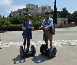 A perfect way to see the city and enjoy the sights of Athens,, off your feet and on a Segway! , Thomas B - May 2014