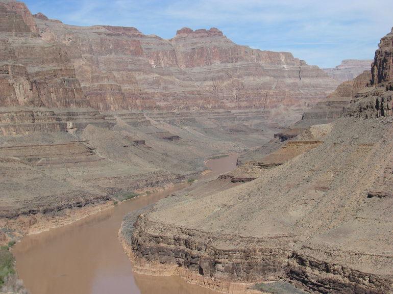 Colorado River e o Grande Canyon - Las Vegas
