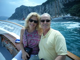 ENJOYING THE BREATH TAKING SCENERY OF CAPRI , Eva P - July 2011
