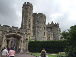 Walking in toward the entrance of Windsor Castle. , howardtopher - June 2016