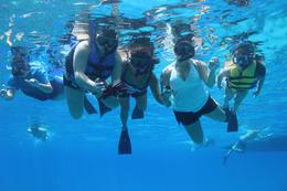 Family underwater shot! Priceless! , sylvia d - September 2016