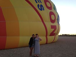 Before our flight, Krystal W - September 2014