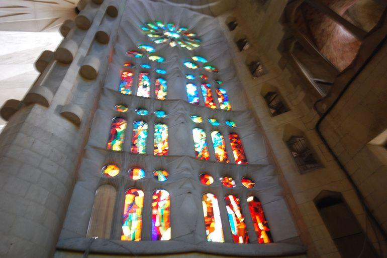 La Sagrada Familia Interior - Barcelona