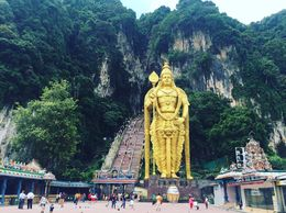 Tallest Lord Murugan in the world. Quite a view. , Zandy - August 2016
