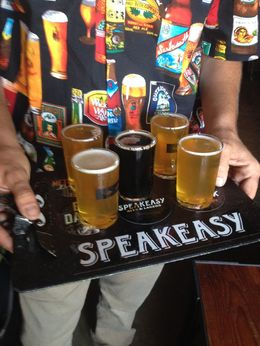 Speakeasy beer samples - August 2015