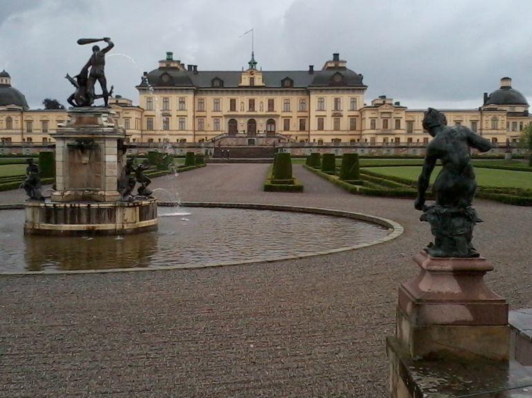 Royal Palace Garden - Stockholm