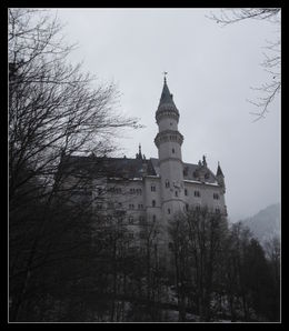 Neuschwanstein castle and we got snow! , Helen H - March 2014