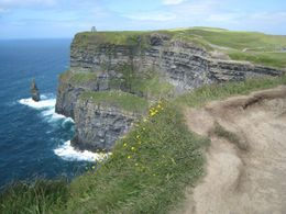 Cliffs of Moher: We had over an hour to enjoy these magnificent cliffs. - June 2011