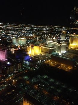 Flying over where The Linq will be in a few months!, Jaime T - February 2013