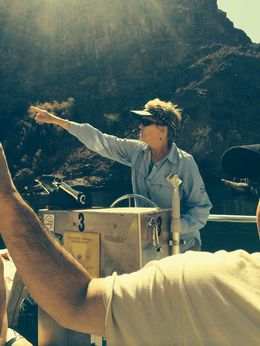 Tour guide was discussing how the Hoover Dam was built , John W - August 2014