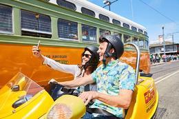 Explore Alcatraz Island and the streets of San Francisco in a Go Car., Viator Insider - January 2018