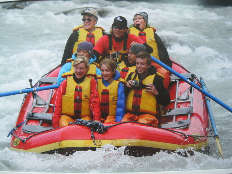White water rafting Alaska - Juneau