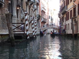 Side canal on the way out to the Grand Canal , Rita C C - October 2016