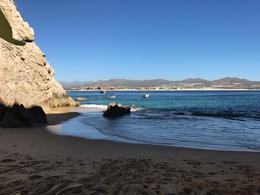 Looking back from Lover's Beach toward Cabo. , Martha G - February 2017