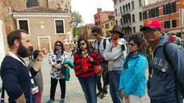 Guide at walking tour made very interesting! , Ashok S - May 2017