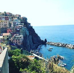Manarola, View from the top of the hike , nmontag3 - September 2017