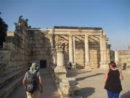 Travel on to the Sea of Galilee and ancient fishing village of Capernaum , Clyde C - October 2017