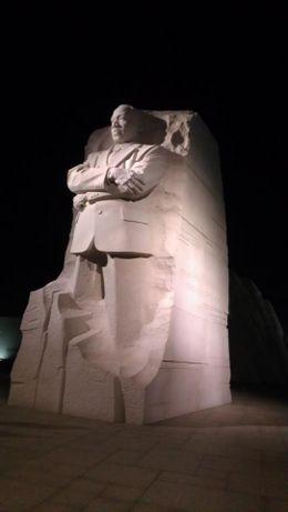 MLK Memorial , David a - January 2012