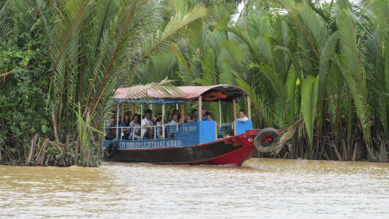 A River Tour Boat - Ho Chi Minh City