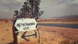 On our way to Ait Benhaddou Kasbah , Nicholas B - June 2014