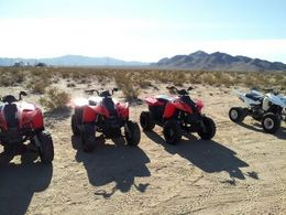 These are the ATV's you will ride on the tour., Astrolover - March 2012