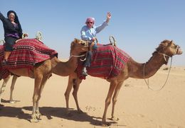 Gotta love a camel ride! , Tracey G - June 2015